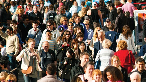 Image of crowd of people